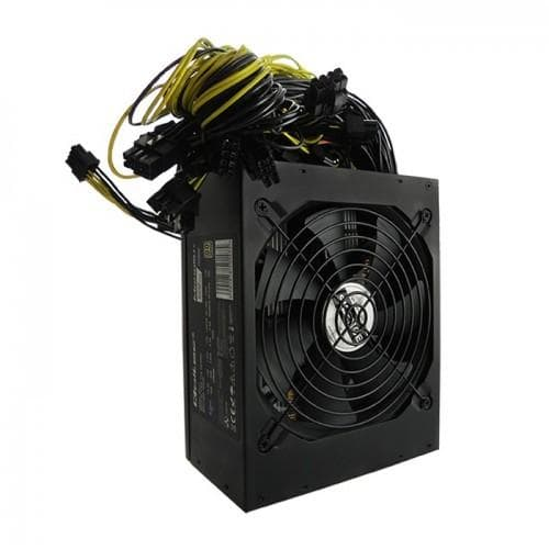 Power supply Qoltec Bitcoin Mine 50147 (1600 W; Active; 140 mm) (50147)