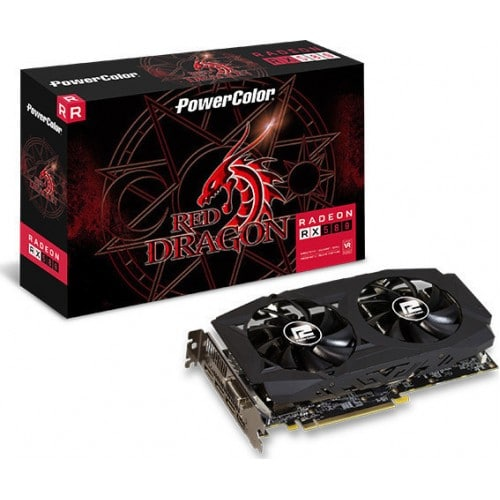 PowerColor Radeon RX 580 8GB (AXRX 580 8GBD5-3DHDV2/OC)