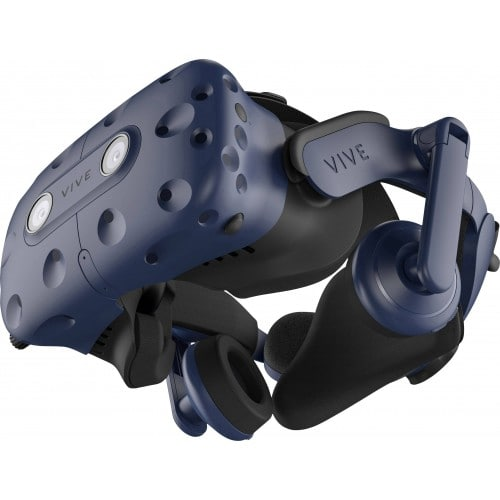 HTC Vive Pro Starter Kit, VR glasses (blue / black, incl. 2x 2x controller and base station)(99HAPY002-00)